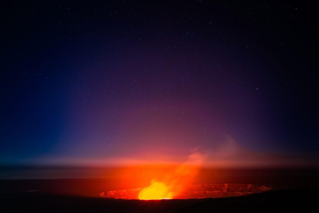 Landausflug Norwegian Cruise Line: Flug über Kaluea Vulkan Hawaii