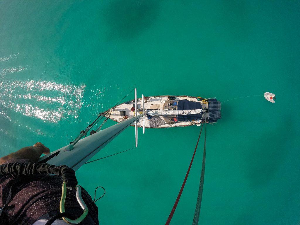 Kreuzfahrt Landausflug mit America's Cup Yacht segeln