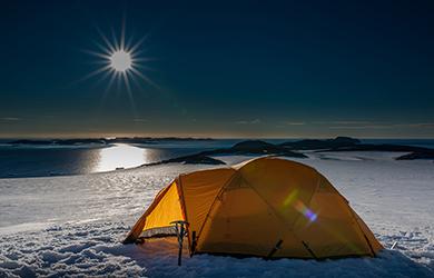 Landausflug in der Antarktis