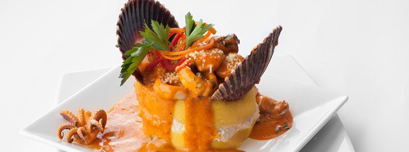Causa typisches Gericht aus Lima, Peru