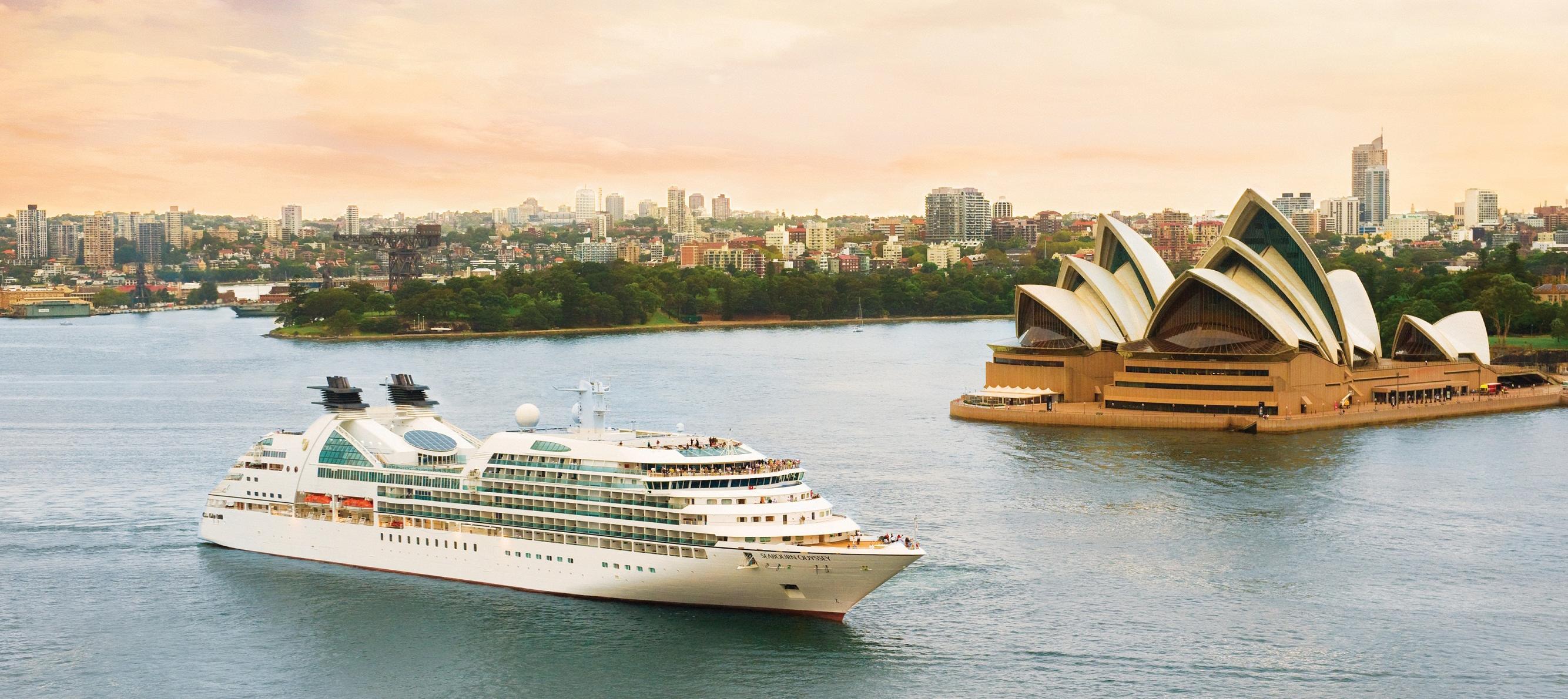 Seabourn Odyssey in Sydney