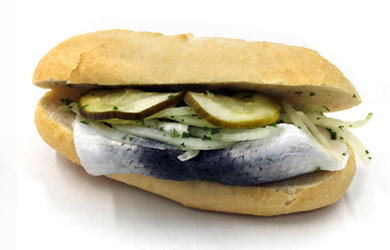 Bismarck Fischbrötchen