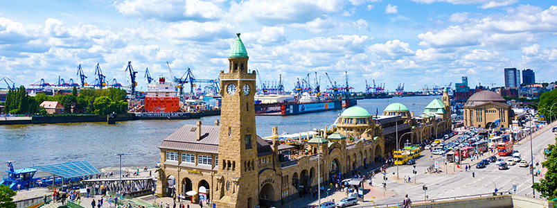Hamburg - Landungsbruecken