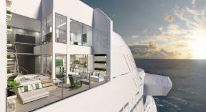 Villa auf der Celebrity Edge