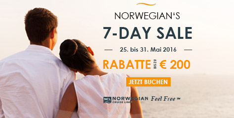 Norwegian 7-Day-Sale Angebote