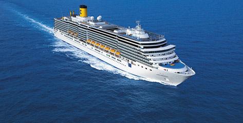 Alle Costa Kreuzfahrten Angebote im Überblick
