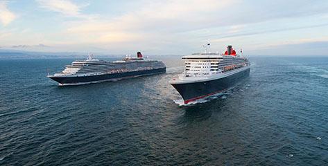 Alle Cunard Kreuzfahrten im Überblick
