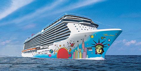 Norwegian Cruise Line buchen und bis 31.07.2016 extra Bordguthaben sichern!