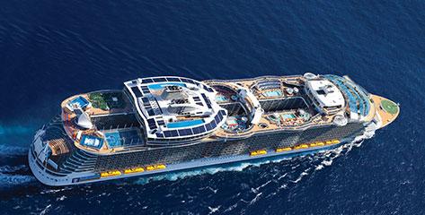 Royal Caribbean buchen und bis 31.07.2016 doppeltes Bordguthaben sichern