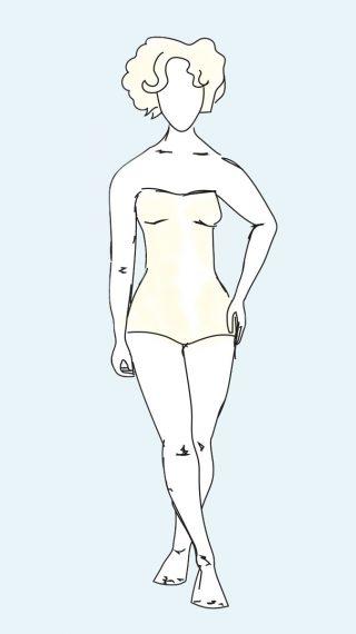 Marilyn Monroe bikini / swimsuit