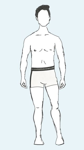 Elvis Presley swim shorts