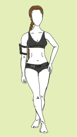 Angelina Jolie bikini / swimsuit