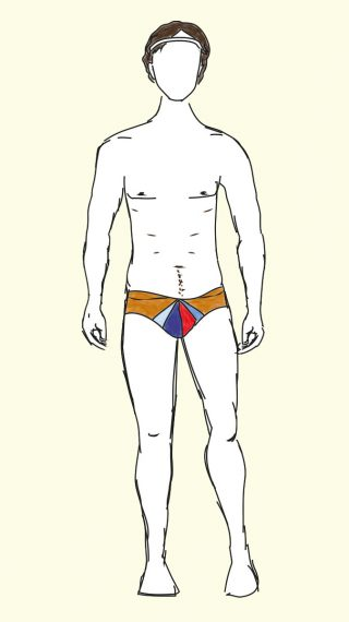 Mark Wahlberg swim shorts