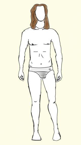 Hank Azaria swim shorts