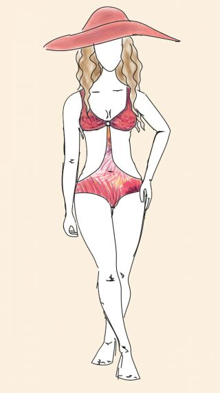 Jennifer Lopez bikini / swimsuit