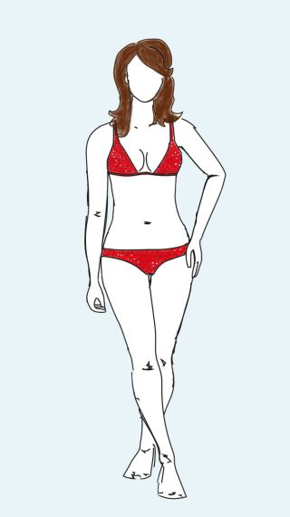 Elizabeth Hurley bikini / swimsuit