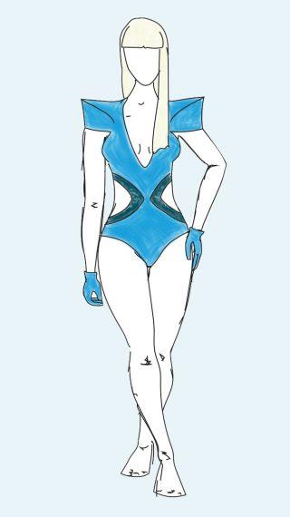 Lady Gaga bikini / swimsuit