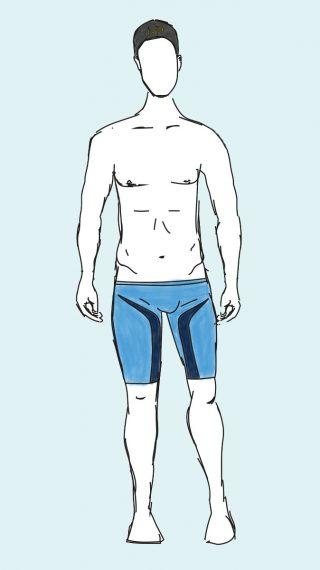 Michael Phelps swim shorts