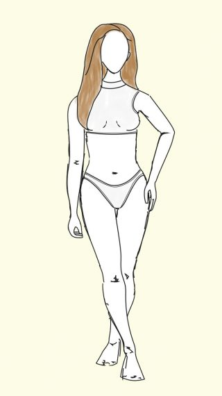 Elle Macpherson bikini / swimsuit