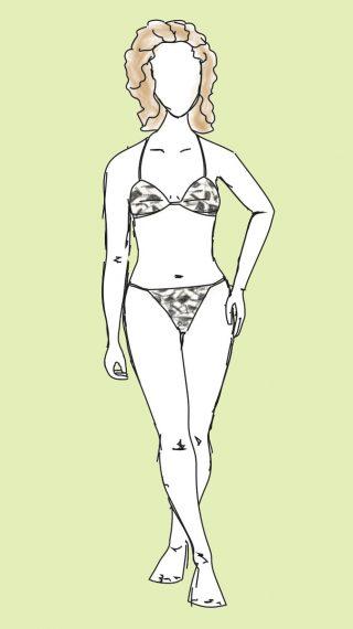 Micheline Bernardini bikini / swimsuit