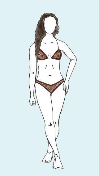 Demi Moore bikini / swimsuit