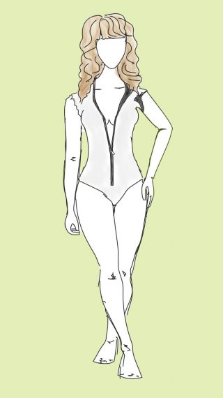 Farrah Fawcett bikini / swimsuit